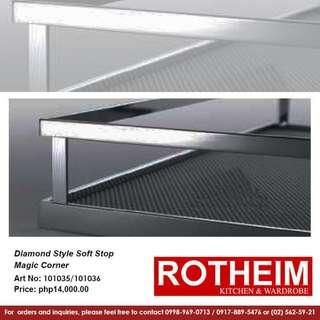 Rotheim Diamond Style Soft Stop Magic Corner