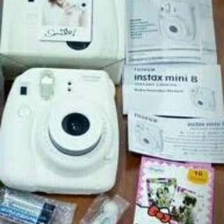 Instax + refill 8s new polaroid