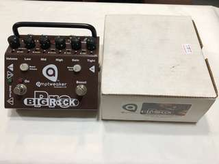 Amptweaker Big Rock Pro Distortion Guitar Effects pedal