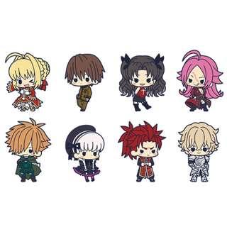[PO] Fate/EXTRA Last Encore es Series nino Rubber Strap Collection