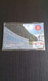 COLLECTIBLE EXCLUSIVE MEDIACORP EZLINK CARD