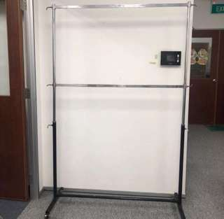 Used 2 Tier Clothes / Bags Rack For Clearance Sale