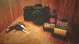 CONTAX 35MM FILM CAMERA