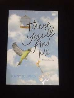 "Novel ""There you'll find me"""