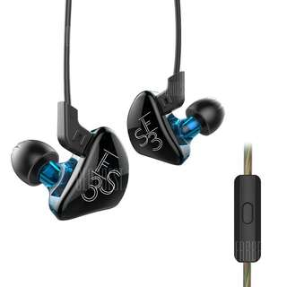 Kz Es3 Dual Drivers Earphone w/ mic
