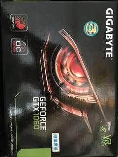 顯示卡 技嘉 Gigabyte Gtx1060 6Gb 有盒
