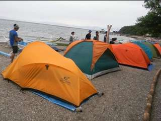For Sale❗️❗️❗️Conquer 2-Person Orange Tadpole Tent