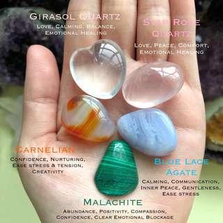 Emotional Healing Crystal Bag