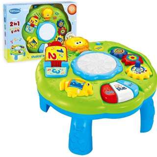 TOT KIDS 2 IN 1 Musical Learning Table
