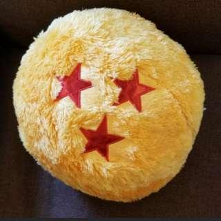 全新正版✡✡龍珠3星珠咕臣 Dragonball Cushion