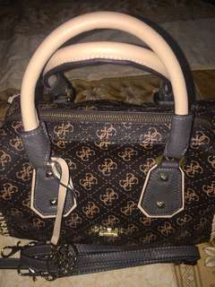 Guess confidential chain satchel bag