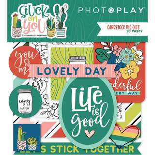 Photoplay - Cardstock Diecuts - Stuck On You