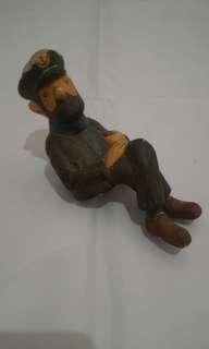Tintin Miniatur Kapten Haddock