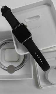 Apple Watch 42mm 初代不銹鋼 stanley steel