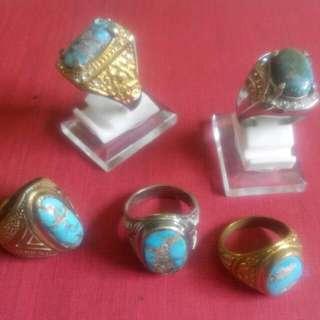Turquoise Ring Stone  Pirus Persia
