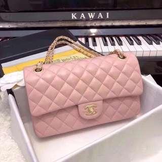 Chanel 進口羊皮 25cm CHAN✨CF 早春新色