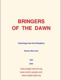 Bringers of the Dawn by Barbara Marciniak