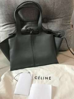 Celine Tri Fold Shoulder Bag