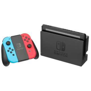 Nintendo Switch Neon Console with 1 Year Local Warranty