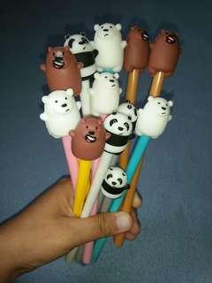We Bare Bears Gel pen