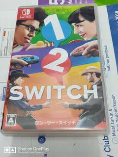 Nintendo switch 1-2 switch - jp/eng version