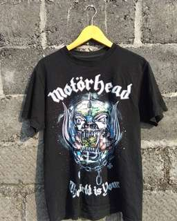 tshirt band motorhead
