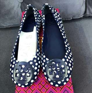 Bnew and Authentic Tory Burch Minnie Travel Ballet