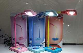 全新 正貨 Philips飛利浦 Disney迪士尼 公主 反斗車王 LED書檯燈 禮物