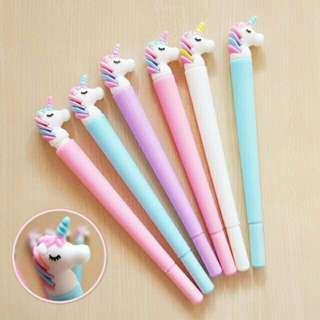 Unicorn Gel Pens