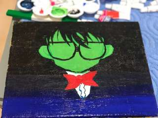 Fan Art Painting Detective Conan
