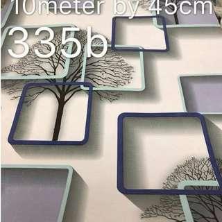 Floral Design Wallpaper Self Adhesive