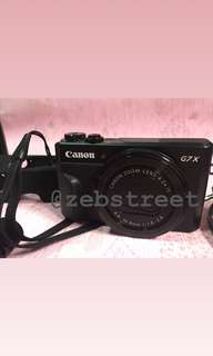 Canon g7x mark II NEGOTIABLE‼️