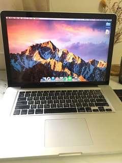 🚚 MacBook Pro 15寸 可跑ps等軟體 設計系學生用 SSD保固中