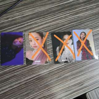 WTS Blackpink Official Photocard
