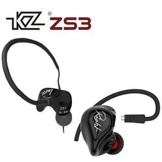 Kz Zs3 dynamic driver earphone