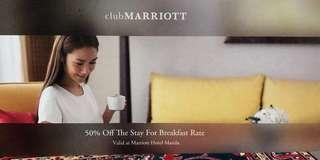 Marriott 50% off Voucher