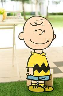Snoopy charlie brown birthday party standee