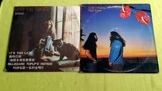 CAROL KING . tapestry ● CECILIO & KAPONO . night music ( buy 1 get 1 free )  Vinyl record
