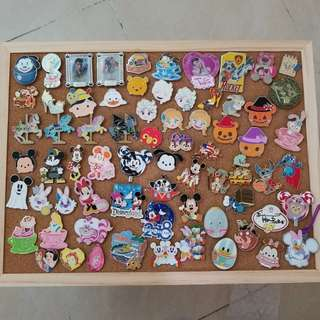 Disney pin 迪士尼徽章 米奇史迪仔公主~ 可圈圖問價
