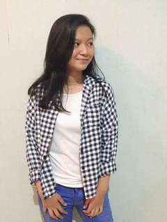 Flanel Black And White