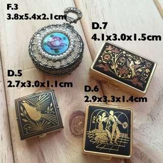 復古金色華麗的小飾品盒