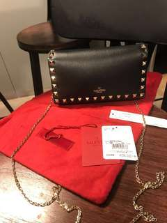 全新100%new Valentino chain crossbody bag