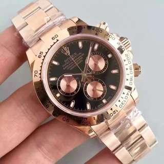 面交服務終身  Rolex Daytona 白地 116505 玫瑰金 40mm
