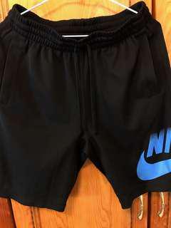 藍Nike SB 勾勾短褲  M號