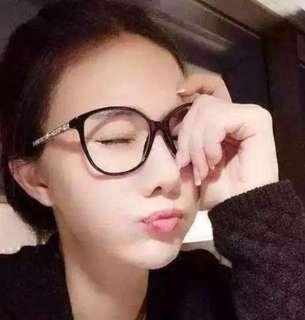 🚚 Tiffany衣櫃 二手眼鏡鏡架 鏡框 顯臉小 無品牌 會把鏡面推掉再寄