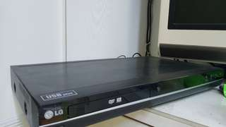 LG DVD player DR 389 w/ recording function