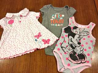 mix brand Baby Rompers