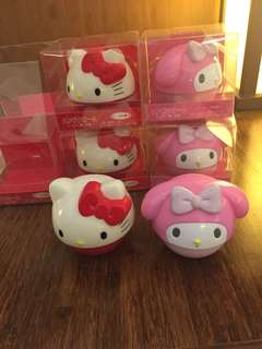 My melody hello kitty hand cream
