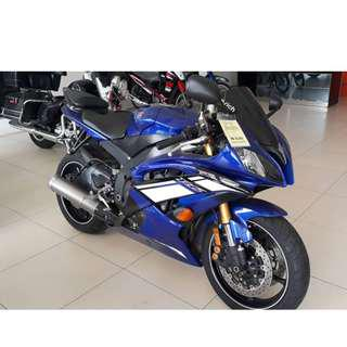 YAMAHA R6 2012 UNREG RECOND PROMO FROM RM55,000 TO RM50,000