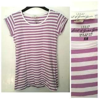 Overrun H&M Stripes Top
